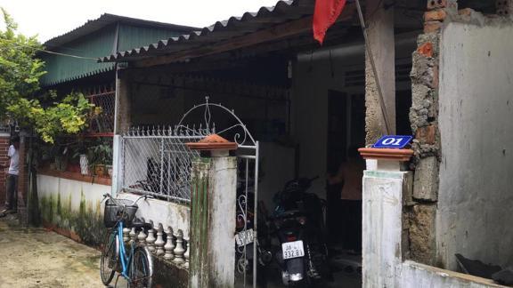 Nguyen Thi Phong and Pham Van Thin's home in Vietnam's Ha Tinh province.