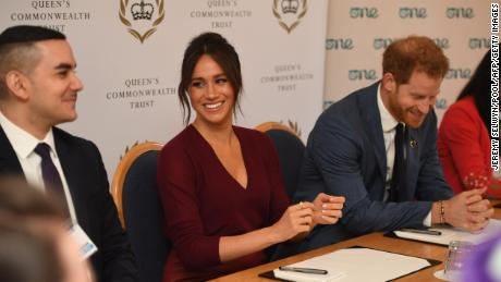 It was business as usual for the Sussexes who participated in the a roundtable on gender equality with the Commonwealth Queens Trust and a young world at Windsor Castle on Friday.