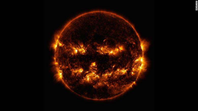 One Spooky Thing: NASA's Halloween-Themed Celestial Images