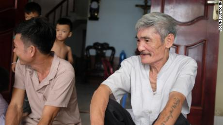 Phan Van Thuong, 64, lives in the province of Nghe An in central Vietnam. All three of his sons went to Europe to find work.