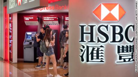 A 'remodel' and job cuts loom at HSBC after profits plunge