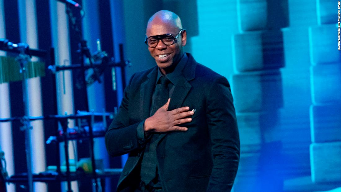 Dave Chappelle asymptomatic after testing positive for Covid-19