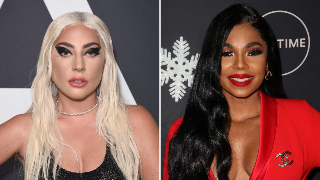 Lady Gaga and Ashanti looked like they were having a blast together in Vegas.