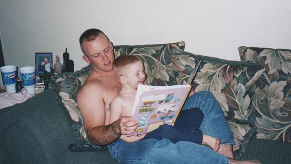 Marine Gunnery Sgt. John David Fry was killed in 2006 in Iraq by an improvised explosive blast.