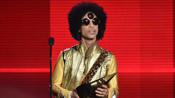 Musician Prince speaks onstage during the 2015 American Music Awards in November 2015