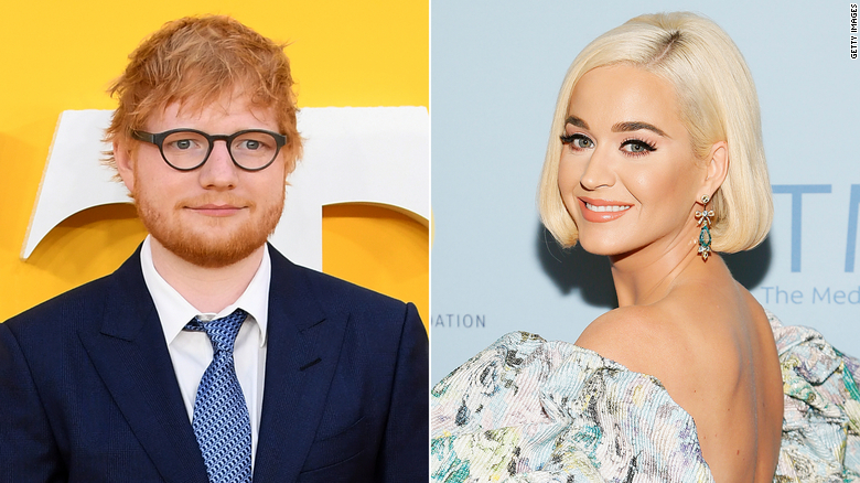 Prince was reportedly not a fan of Ed Sheeran and Katy Perry's music