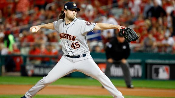 Houston ace Gerrit Cole lost Game 1, but he rebounded with a big performance in Game 5. Cole allowed only three hits and one run over seven innings. He also struck out nine batters.