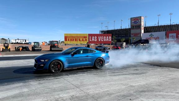It excels elsewhere, too, but the dragstrip is probably the Shelby GT500's most natural home.