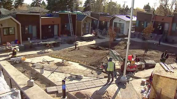 Fifteen houses are going up in Calgary for homeless veterans.