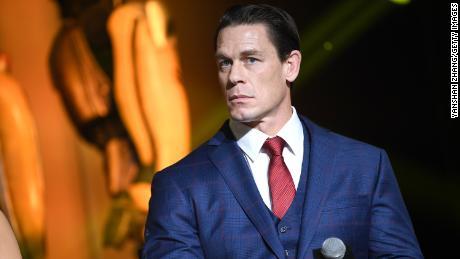 John Cena shown here at a film premiere in 2018.