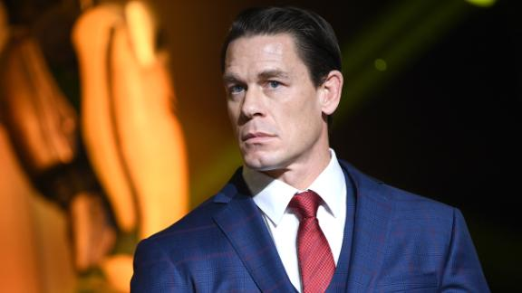 John Cena says he's donating to first responders to honor those he considers heroes.
