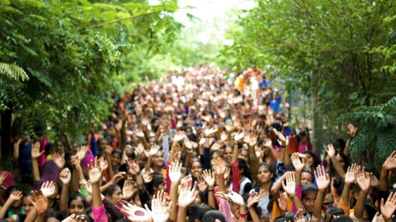The people of Piplantri, India, have planted nearly 350,000 trees since 2006—all in honor of the girls born in their village.