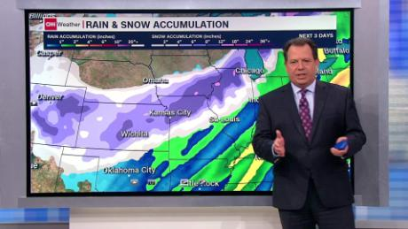 Denver Snow Is Forecast To Move East Creating A Wintry Halloween