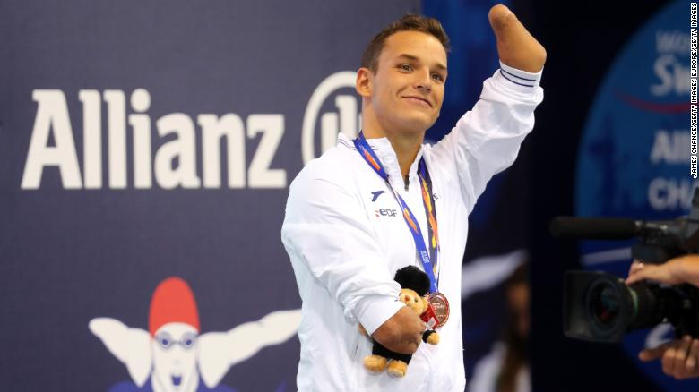 paralympic swimmers names