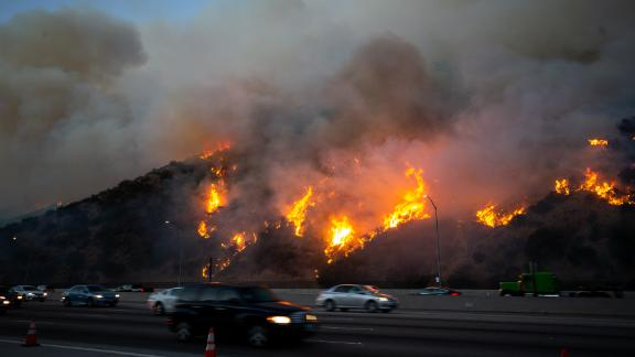 Thousands of Los Angeles residents were forced to evacuate their homes because of the Getty Fire.