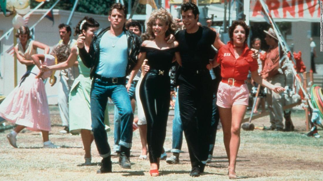 Olivia Newton-John and John Travolta bring back their iconic 'Grease' characters