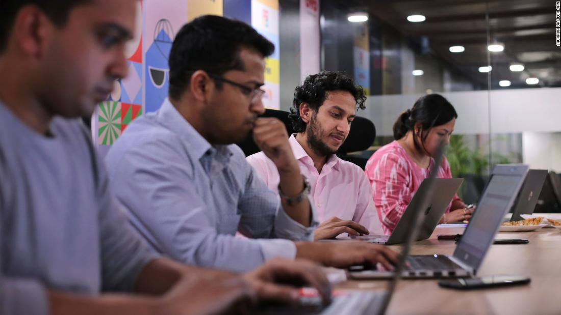 OYO has 20,000 people working for the company worldwide, half of them are based in India.