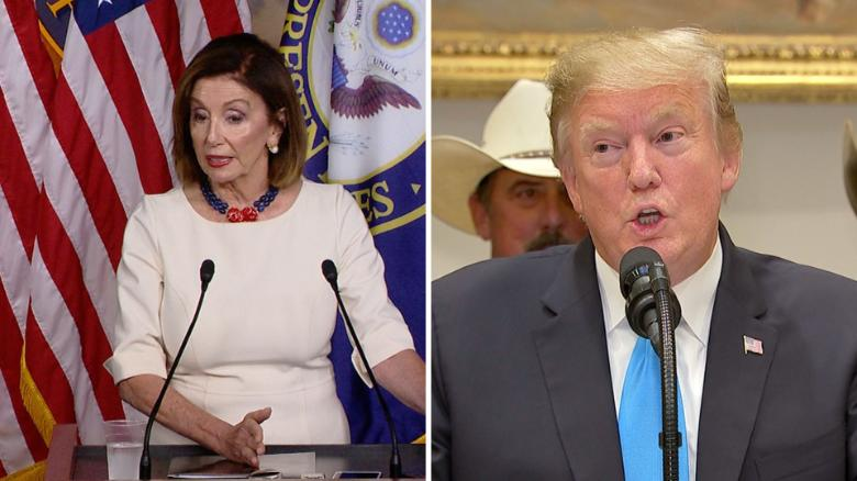 Trump and Pelosi's relationship wasn't always this bad
