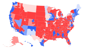 How the electoral map is moving toward Republicans