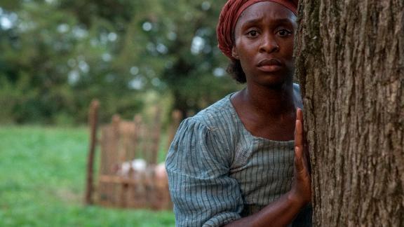 "Cynthia Erivo stars as Harriet Tubman in the film ""Harriet."""