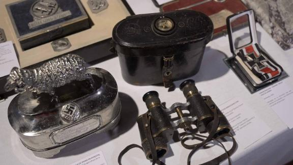 The artifacts were discovered in Buenos Aires in June 2017.