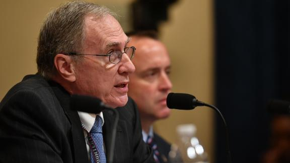 Russell Travers, Acting Director of the National Counterterrorism Center testifies before the House Homeland Security Committee on global terrorism and threats to the homeland in the Cannon House Office Building on Capitol Hill in Washington, DC on October 30, 2019.