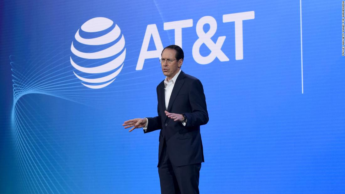 AT&T CEO calls for racial justice in America
