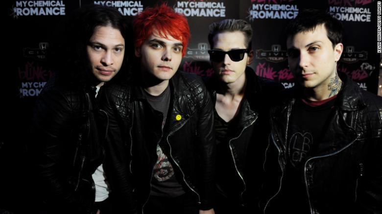 My Chemical Romance announces reunion show