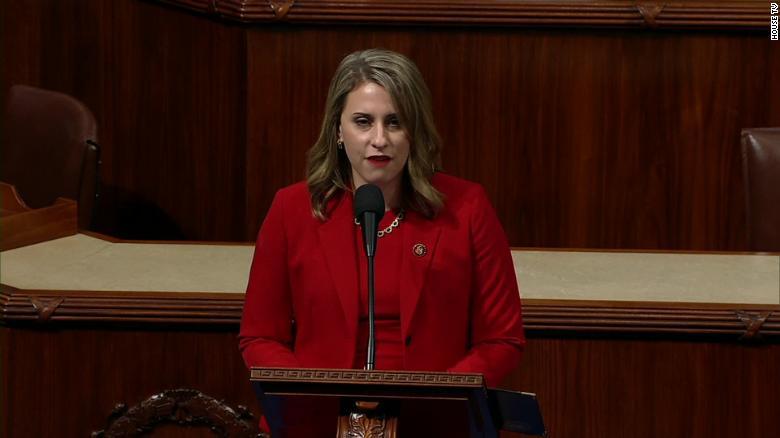 remarks in her farewell speech