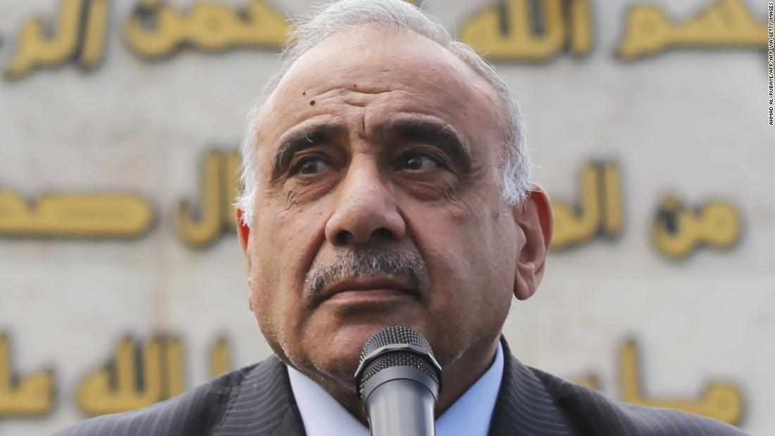 イラクの午後者辞任