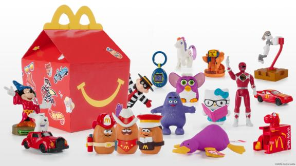 Some of the Happy Meal toys McDonald's is bringing back for a limited time.