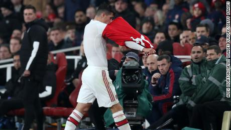 Arsenal's Granit Xhaka was furious after being booed by the club's fans last weekend.