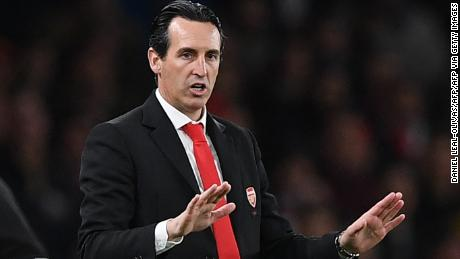 Manager Unai Emery is under pressure at Arsenal after the club's recent performances.