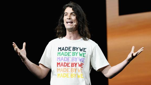WeWork's former CEO Adam Neuman.