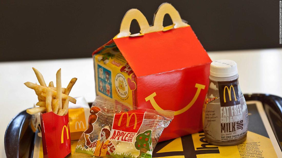 McDonald ' s feiert Jubiläum mit Reminiszenz Spielzeug