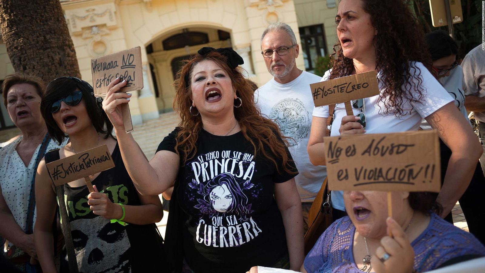 Barcelona Court Acquits Five Men Of Rape Because Unconscious