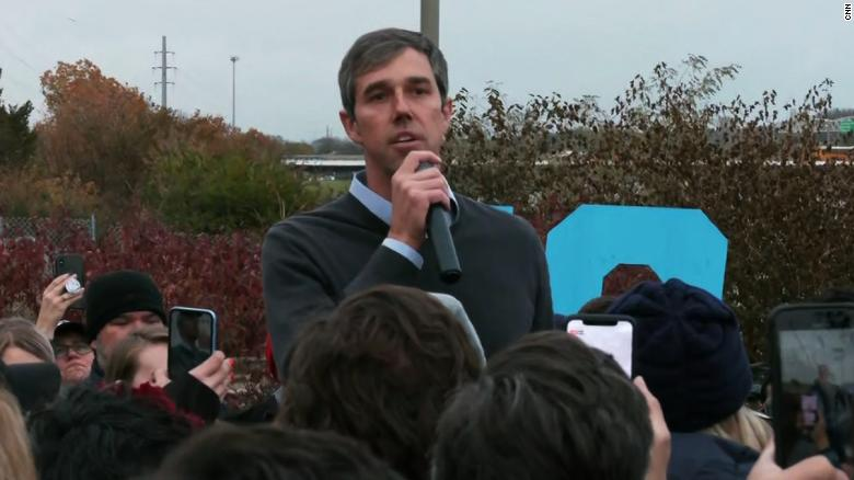 See Beto O'Rourke speak after dropping out of 2020 race