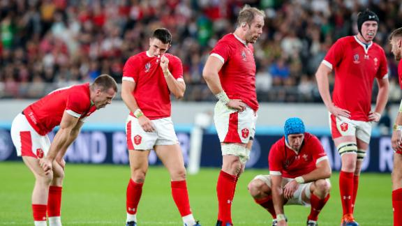 Wales were never able to match the power and speed of the All Blacks.