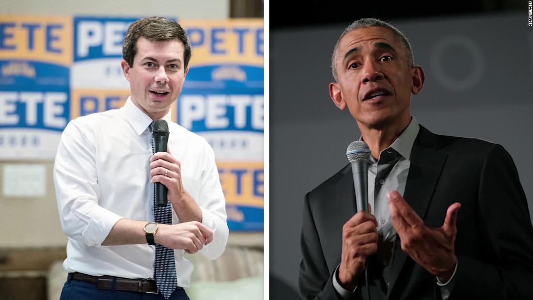 Buttigieg Kampagne umfasst Obama-Vergleiche