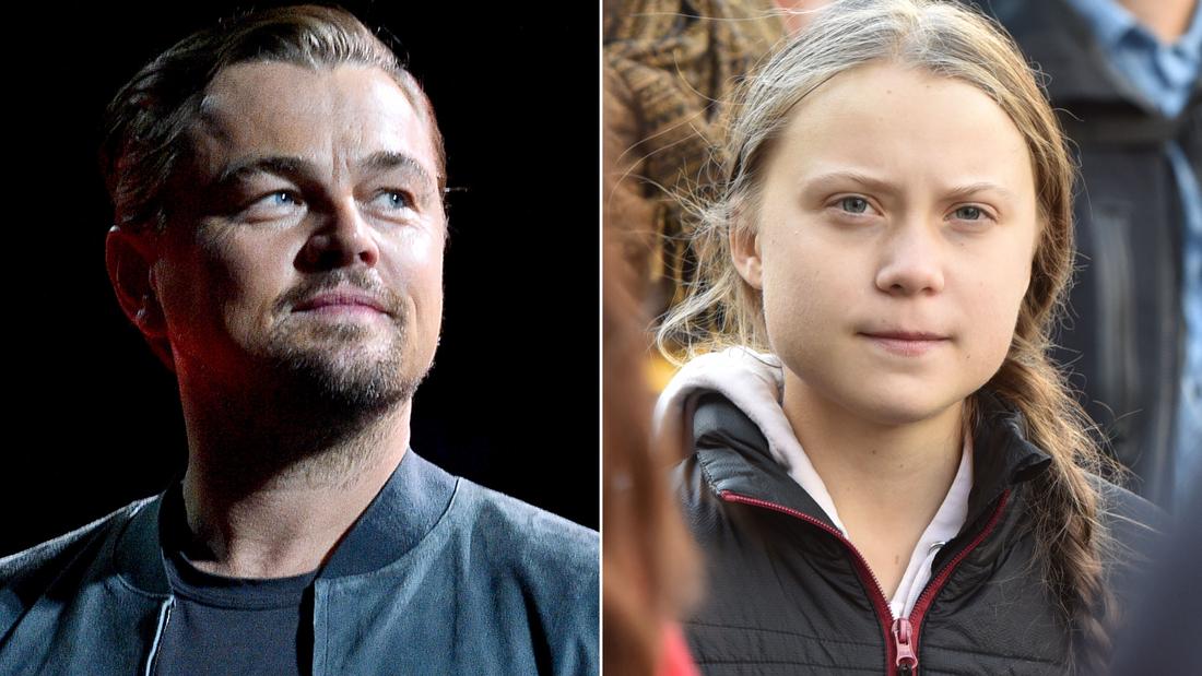 Leonardo DiCaprio αναρτήσεις μια φωτογραφία παρέα με την Γκρέτα Thunberg