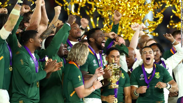 Rugby World Cup South Africa Stuns