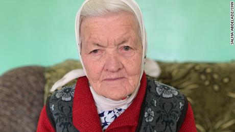 Elena Salaeva has not been home for five years after being hit by shrapnel picking tomatoes in her garden.