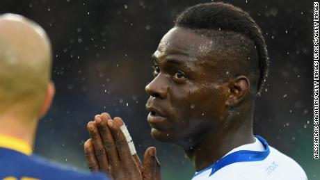 Verona handed partial stadium ban over racist abuse towards Mario Balotelli