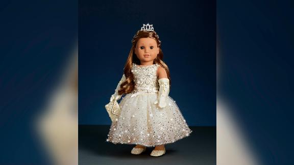 American Girl is only making three of these diamond-encrusted dolls.