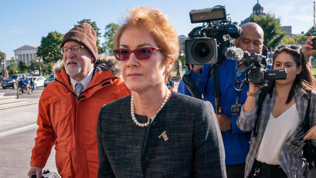 Marie Yovanovitch forcefully disputes 'campaign of disinformation' at impeachment hearing