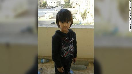 Yusuf was four when he was taken to Syria by his mother, his father says.