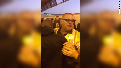 BART worker John O'Conner rescued a man from oncoming train after Sunday's Oakland Raiders game.