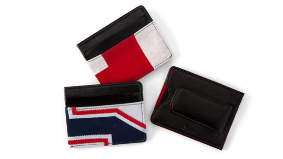 NFL Uniform Money Clip ($95; uncommongoods.com): It
