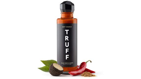 Truff Gourmet Hot Sauce ($17.98; amazon.com): Get a little spicy with this gourmet hot sauce, which has more than 1,000 positive reviews. Featuring black truffle oil from northern Italy and organic agave nectar from Jalisco, Mexico, the smooth sauce is free of preservatives.
