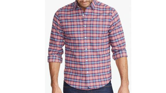 Wrinkle-Free Performance Flannel Shirt ($109; untuckit.com): A rising star in the men